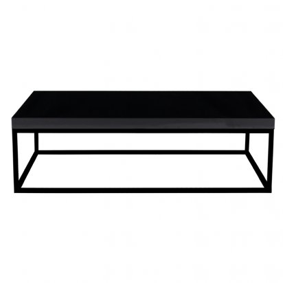 Our top 5 christmas designer furniture picks - Table basse rectangulaire noire ...