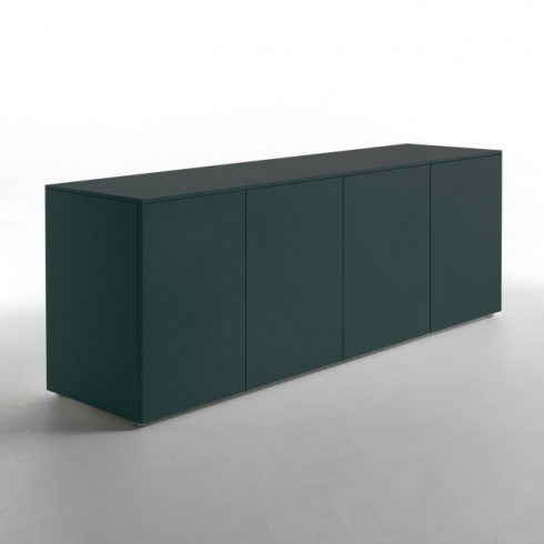 Ex-Display: Space Sideboard, Matt Lacquer Aftereight Green, 240cm