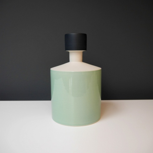 Menta Colour Block Ceramic Object, H20cm