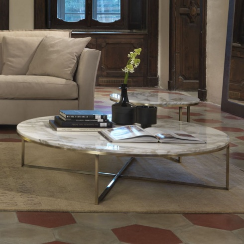 Porto Round Marble Coffee Table