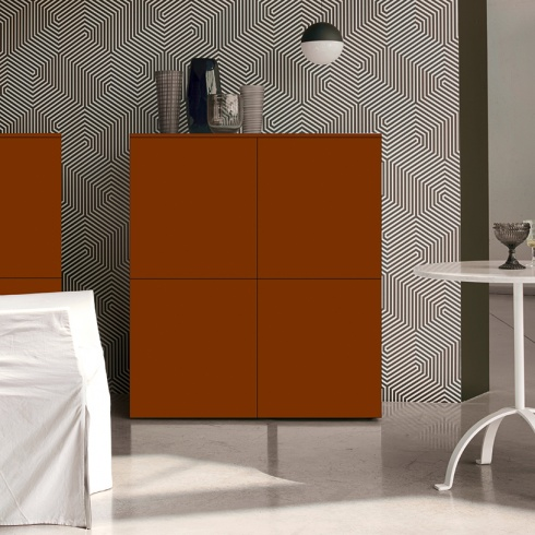 Space Cupboard, 4 Door (SC120A) 120cm