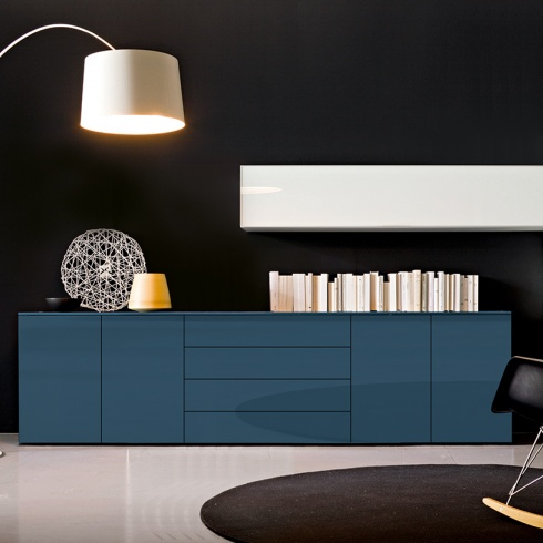 Space Sideboard, 4 Drawer, 4 Door (SS270E) 270cm