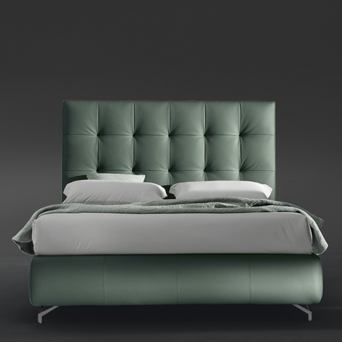 Grace Bed With Storage, High Headboard