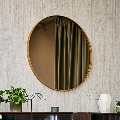 Ex-Display: Jupiter Round Mirror, D110cm