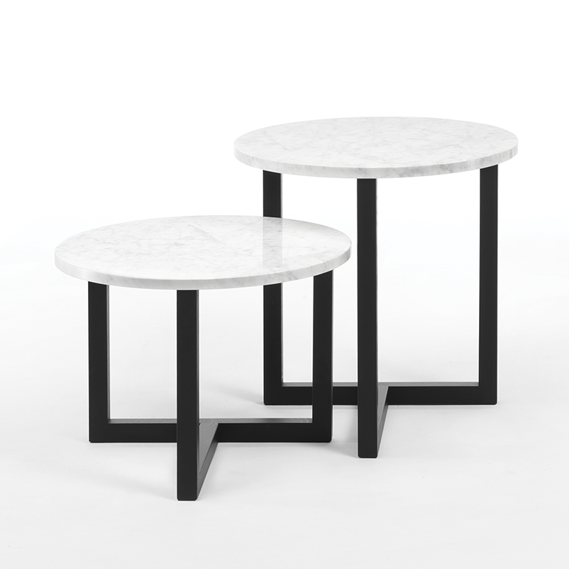 Marble Top Round Coffee Table Uk: Atlas Round Marble Side Table