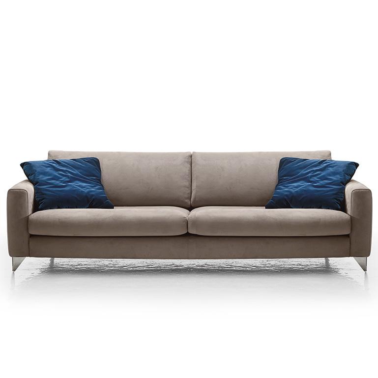 Florence Modern Italia Sofa, Grey