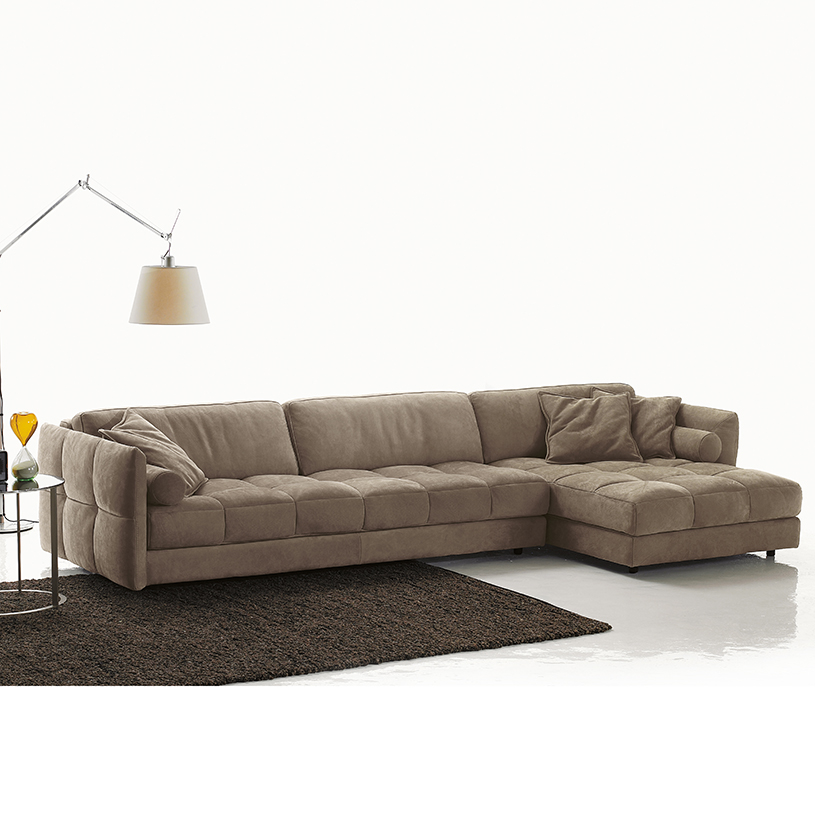Athena corner sofa with chaise for Chaise design eams
