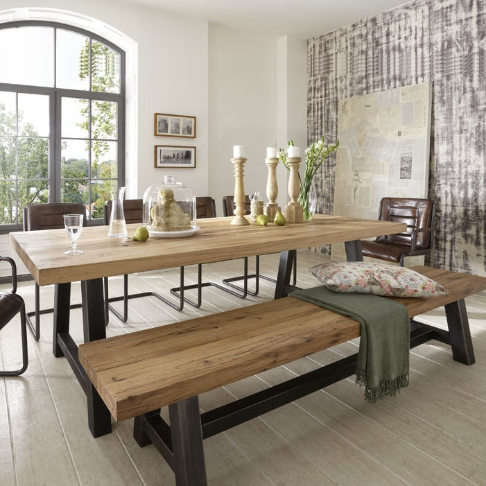 Incredible Metal Wood Dining Table 701 x 701 · 142 kB · jpeg