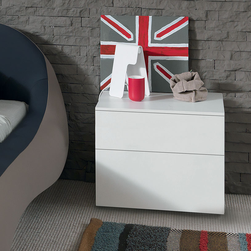 White Side Table With Drawer Brilliant Bedside Great Bed