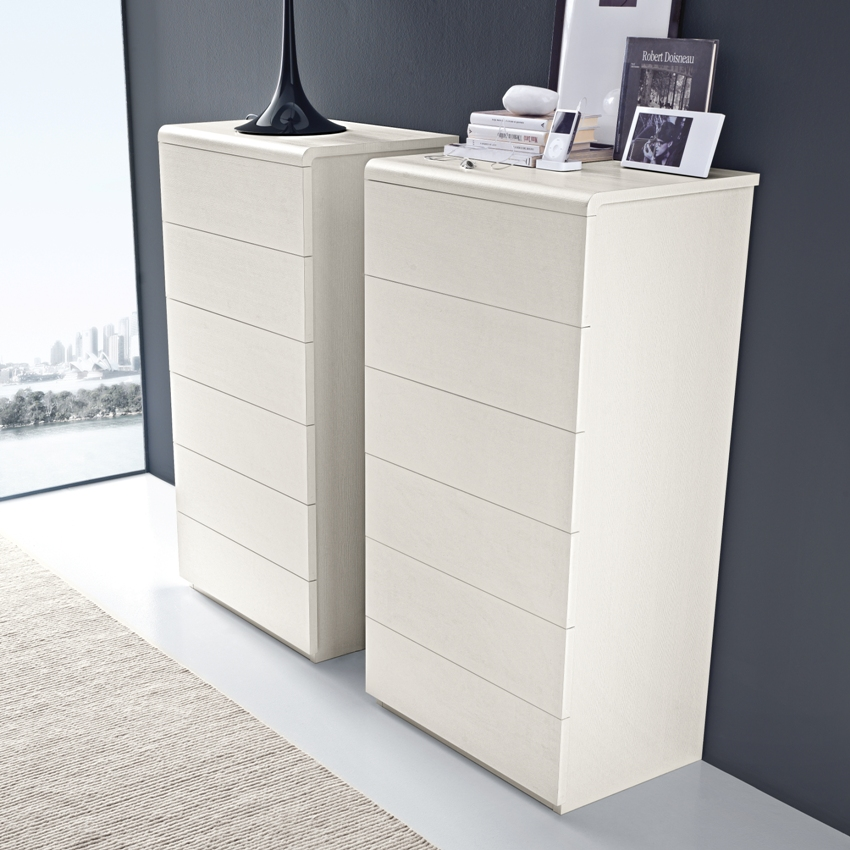 modern white bedroom chest of drawers