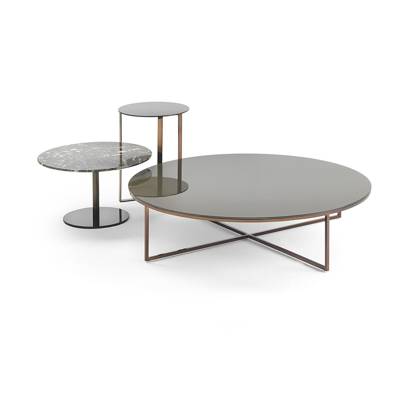 Large Round Coffee Table Uk: Porto Round Marble Coffee Table