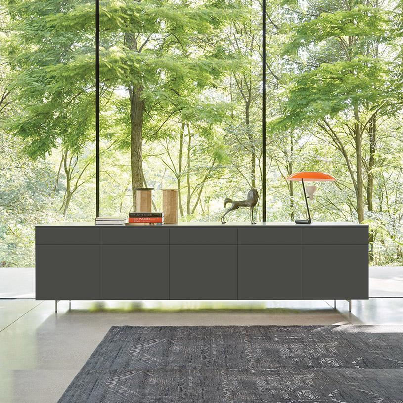 space modern sideboard 300cm. Black Bedroom Furniture Sets. Home Design Ideas