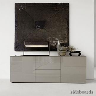 Modern furniture contemporary furniture italian designer for Sideboard taupe