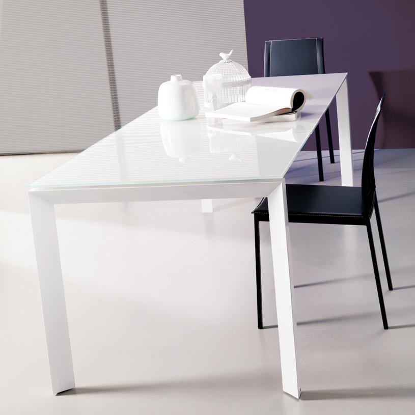 Skorpio Glass Extendable Dining Table