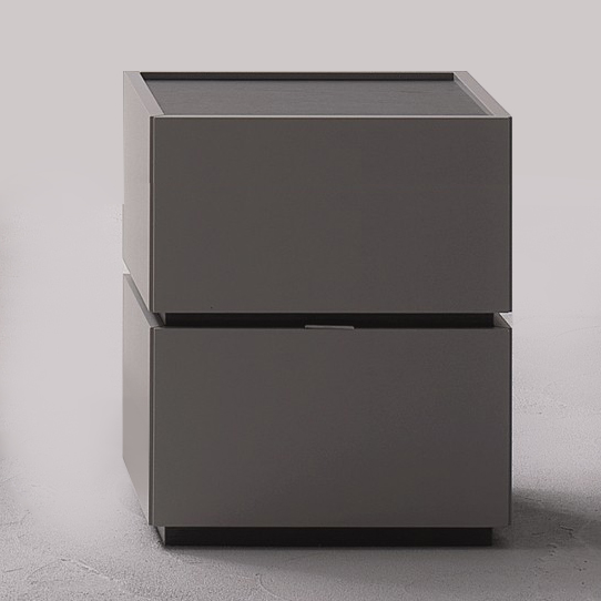 best sneakers 011d5 228e4 Como 2 Drawer Bedside Table. H54cm.