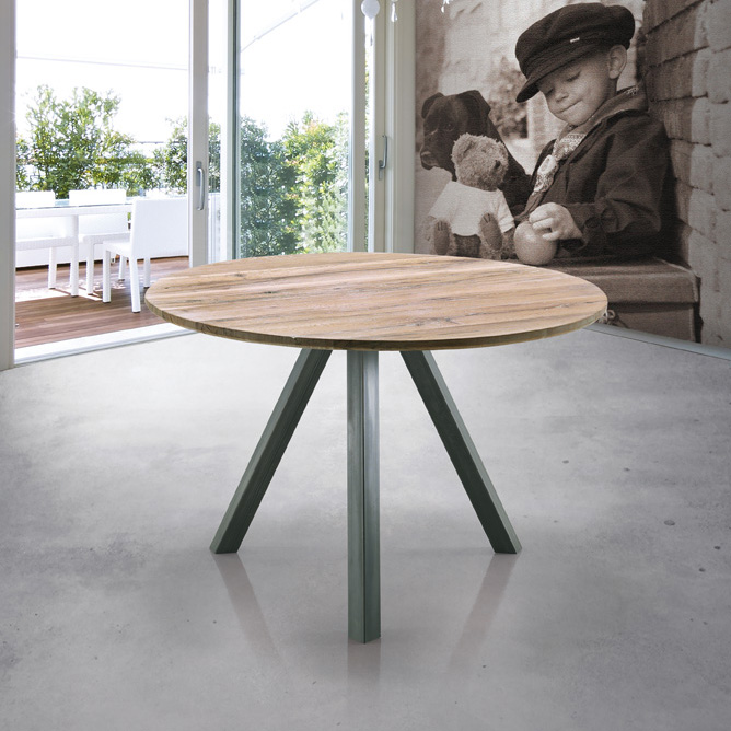 Brilliant Round Wood Dining Table with Metal Legs 668 x 668 · 175 kB · jpeg