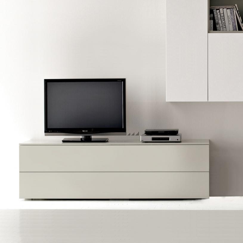 Space Cream Low Tv Unit 150cm