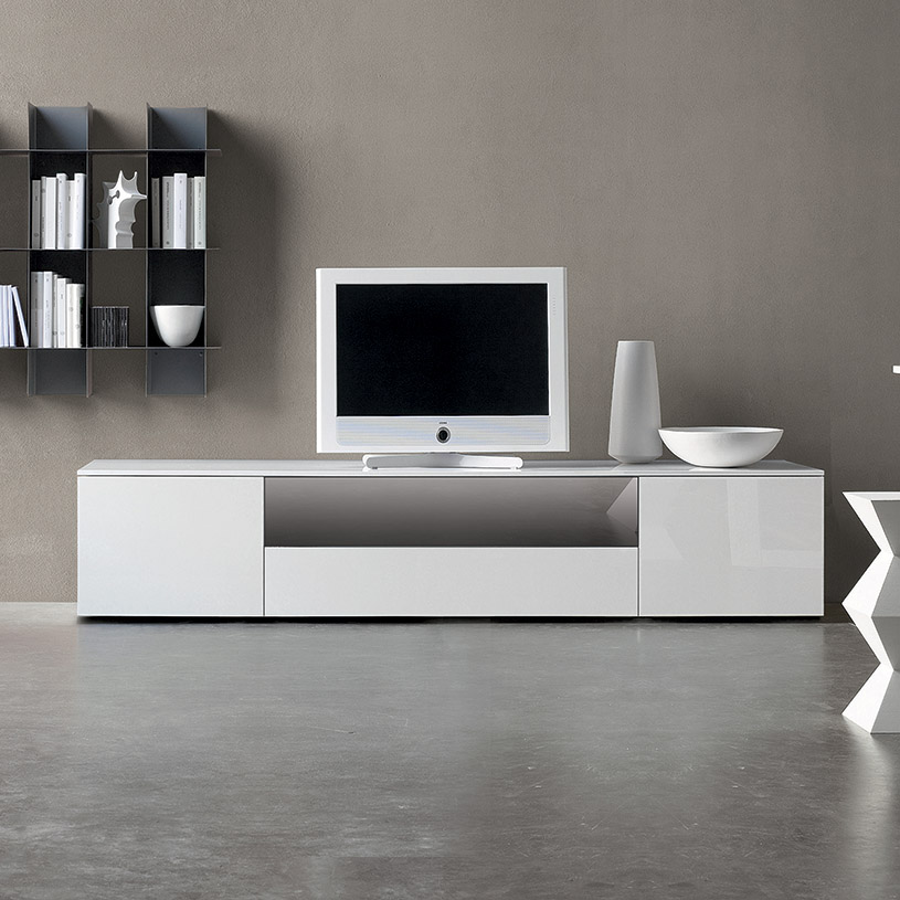 Wonderful White High Gloss Tv Unit Part - 4: Click The Above Image To Enlarge