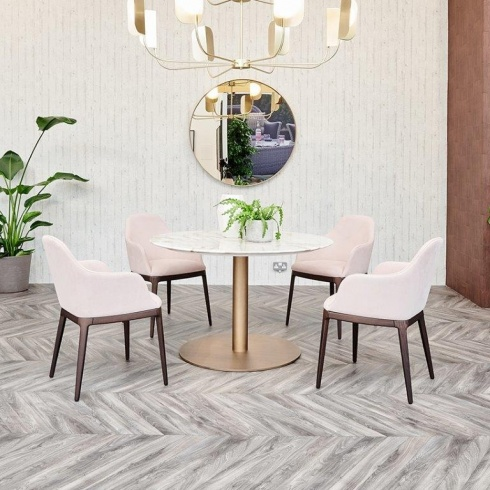 Ex-Display: Opera Marble Dining Table