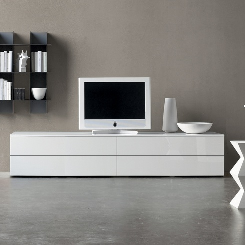 Space White Tv Stand