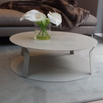 Ex-Display: Ready Round Metal Coffee Table