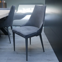 Ex-Display: Penelope Dining Chair, Antracite Sweetbuk (Set of 2)