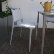 Ex-Display: Sky Outdoor Chairs (Set of 5)