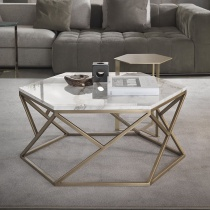 Hive Hexagonal Marble Coffee Table