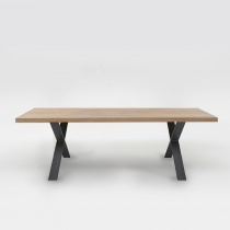 Pixel Dining Table, Solid Oak