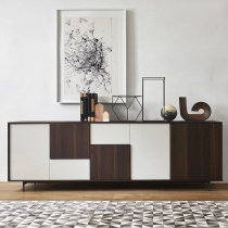 System Sideboard With 3 Sided Frame. L242cm