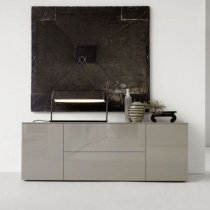 Space Sideboard, 1 Drop-Down Door, 1 Drawer, 2 Door (SS180C) 180cm