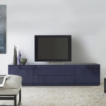 Space TV Unit, 1 Drop-Down Door, 1 Drawer, 2 Door (ST210C) 210cm