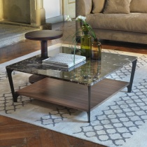 Soho Marble Coffee Table, Square 90cm