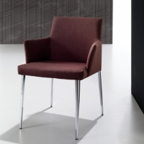 'Area 2' Modern Upholstered Armchair