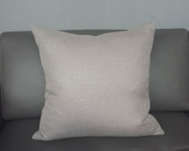 Ex-Display: 20'' x 20'' Cushion. Milani Cobblestone Fabric