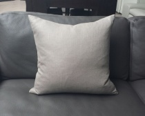 Ex-Display: 19'' x 19'' Cushion. Milani Cobblestone Fabric