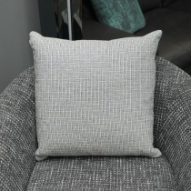 Ex-Display: 19'' x 19'' Square Cushion. Felix Cobalt Fabric