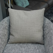 Ex-Display: 20'' x 20'' Square Cushion. Loop Gris Fabric