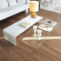 Move Glass Coffee Table Set of 2
