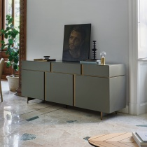 Muse Sideboard, 3 Drawer, 3 Door (MS186B) L186cm