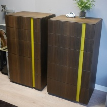 Ex-Display: Muse Set of 2 Tallboy Drawers in Thermotreated Oak