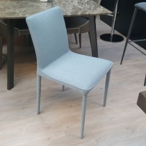Ex-Display: Otto Dining Chair in Blue Wool