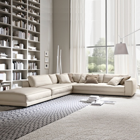 Minerale Corner Sofa with Footstool
