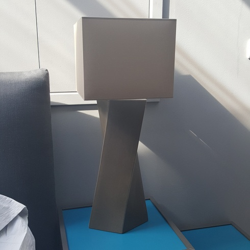 Ex-Display: Celeste Lamp in Taupe