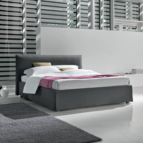 City Bed (Optional Storage), H98cm Headboard