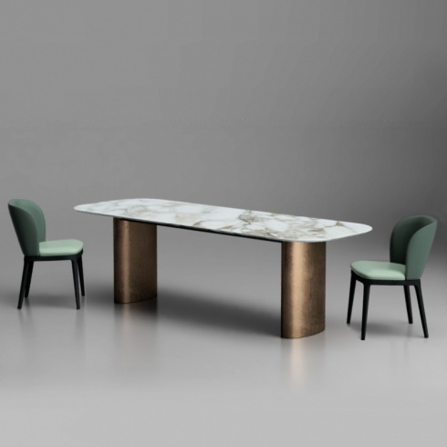 Element Dining Table (Copper Base)