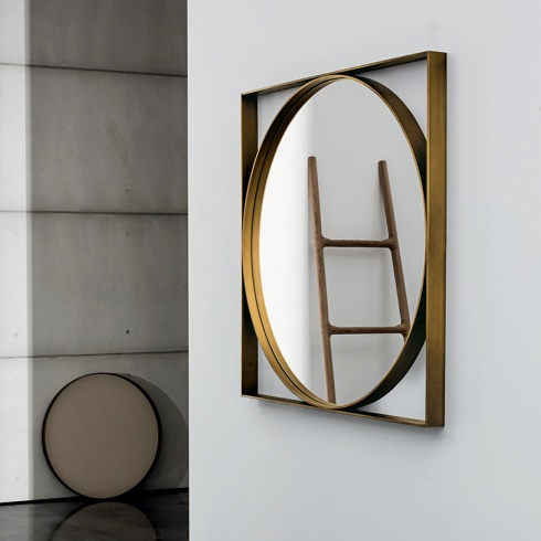 Ex-Display: Jupiter Square/Round Mirror