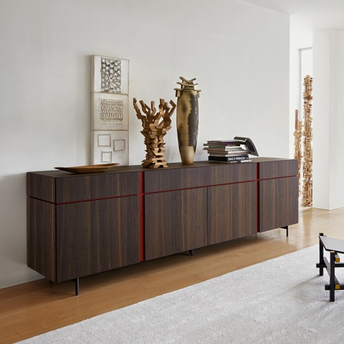 Muse Sideboard, 3 Drawer, 4 Door (MS246A) L246cm