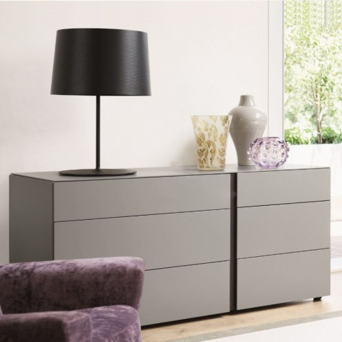 Muse 6 Drawer Chest. H70cm. (MD70)