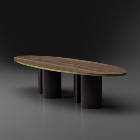 Versa Dining Table, Oval